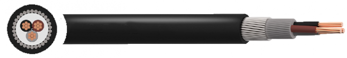 SWA LSZH Copper Armoured Cable , Power Networks Steel Armoured Cable