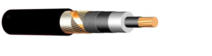 Class 2 Black 18 30 KV Medium Voltage Cable XLPE CWA In Ground Water