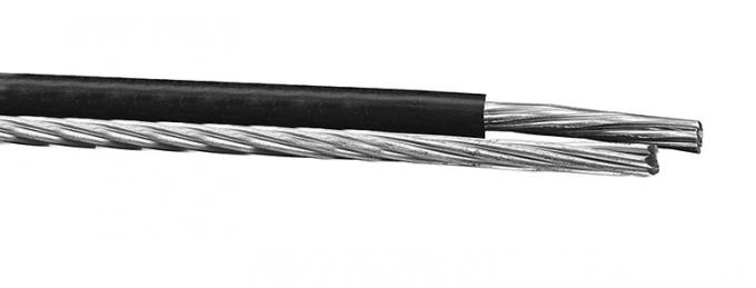 Aluminum Alloy 1350 - H19 Aerial Cable Bundled Insulated Phase Conductor