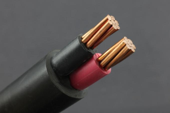 0.6 / 1kV IEC 60502-1 Standard PVC Sheathed Cable Class 1 Copper Two Cores Insulated