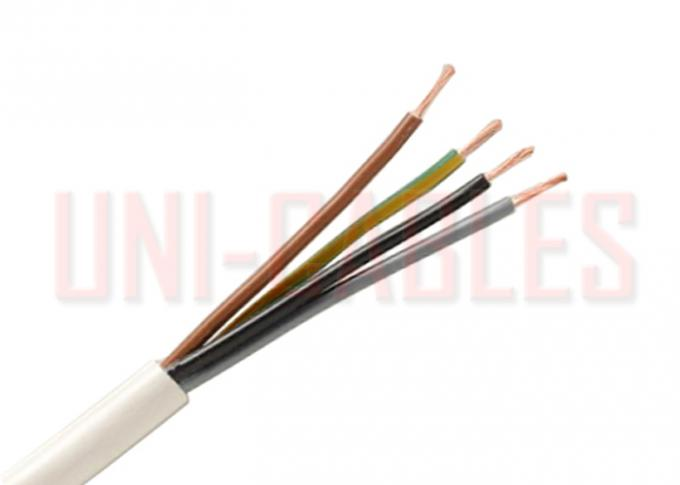 Type RVV 300/500V PVC insulated Flexible Copper Conductor Electrical Wire
