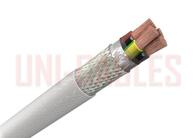 China 3 + 3 Earth 10.2mm Oil Resistant Cable Class 5 PVC VFD EMC 2YSLCY supplier