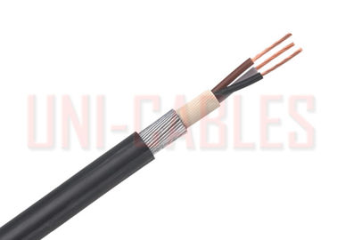 China BS5467 XLPE / SWA Armoured Electrical Cable Low Voltage Stranded Copper supplier