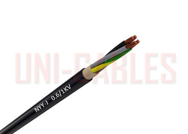 China NYY O DIN VDE 0295 PVC Insulated Cables Outdoor Bare Copper Transformer Stations supplier
