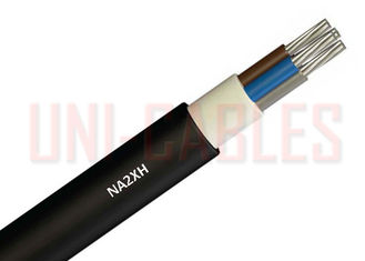 China XLPE Halogen Free Power Cable NA2XH Flame Redundant Aluminum Conductor FRNC 1 KV supplier