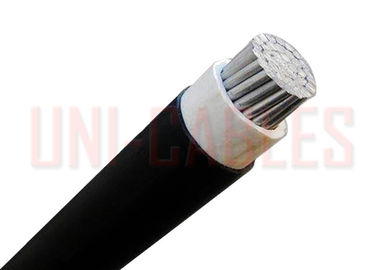 China XLPE Insulation LV Cable PVC Sheath Shaped Aluminum Power NA2XY Black supplier