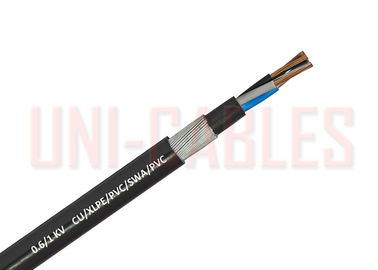 China 1 KV Cu SWA BS 5467 Low Voltage Cable , XLPE PVC Industrial Electrical Cable supplier
