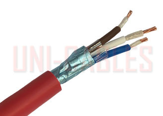 China Multi Core Fire Resistance Cable Unarmoured Cu/MICA Overall Screened Fire supplier