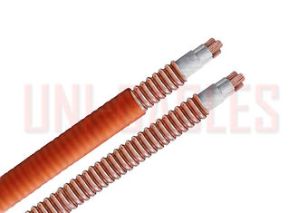 China MI CIA LSZH Mineral Insulated Cable Copper Interlocked Fire Resistance supplier