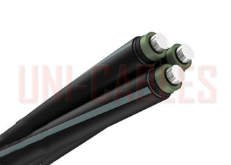 China 12 / 20KV  Medium Voltage Aerial Bundled Cable Insulated NF C 33 226 Class 2 Conductor supplier