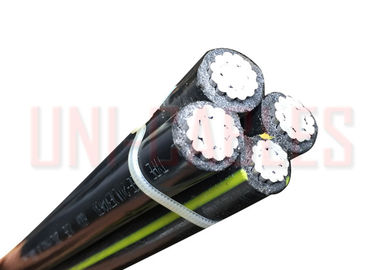 China XLPE Aerial Bundled UL Listed Cable 600V Aluminum 1350 Conductor Quadruplex UD supplier