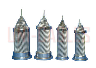 China ASTM - B232 Aluminum Conductor Steel Reinforced , Light Weight ACSR Overhead Conductor supplier