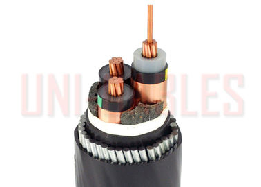 China 19 33kv Three Core XLPE Insulated LSOH Sheathed Steel Wire Armoured to BS 6724 supplier