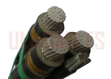 China MV Aluminum Aerial Insulated Cable Overhead Conductor to AS / NZS 3599.1 XLPE HDPE supplier