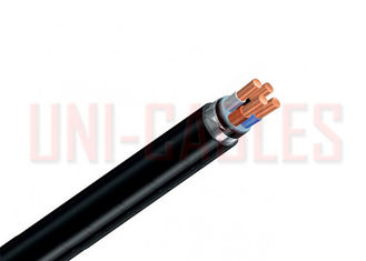China Class 1 25mm 3core Armoured Power Cable PVC RVFV Double Steel Aluminum supplier