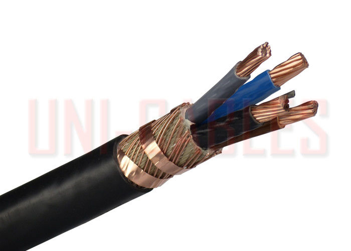 NYCWY Bare Copper Solid Conductor LV Cable , PVC Underground Low ...