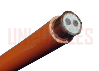China LSZH Mineral Insulated 500V LSZH Cable , Magnesium Oxide Insulated High Temperature Cable factory