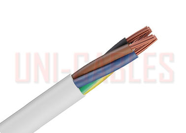 China BS EN 50525 2 11  PVC Electrical Cable High Temperature Zones For Internal Wiring factory