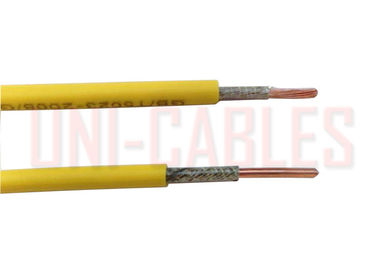 Single Core Fire Resistance Cable BS6387 Copper Conductor Mica Tape Braided Wire