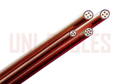 China Multi Core MICC Mineral Insulated Cable , 500V Non Jacketed Fire Survival Cable factory